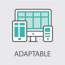 site adaptatif