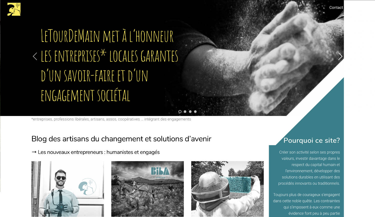 site web letourdemain.fr